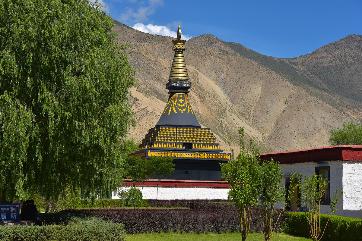 Black Stupa of Samye Monastery
