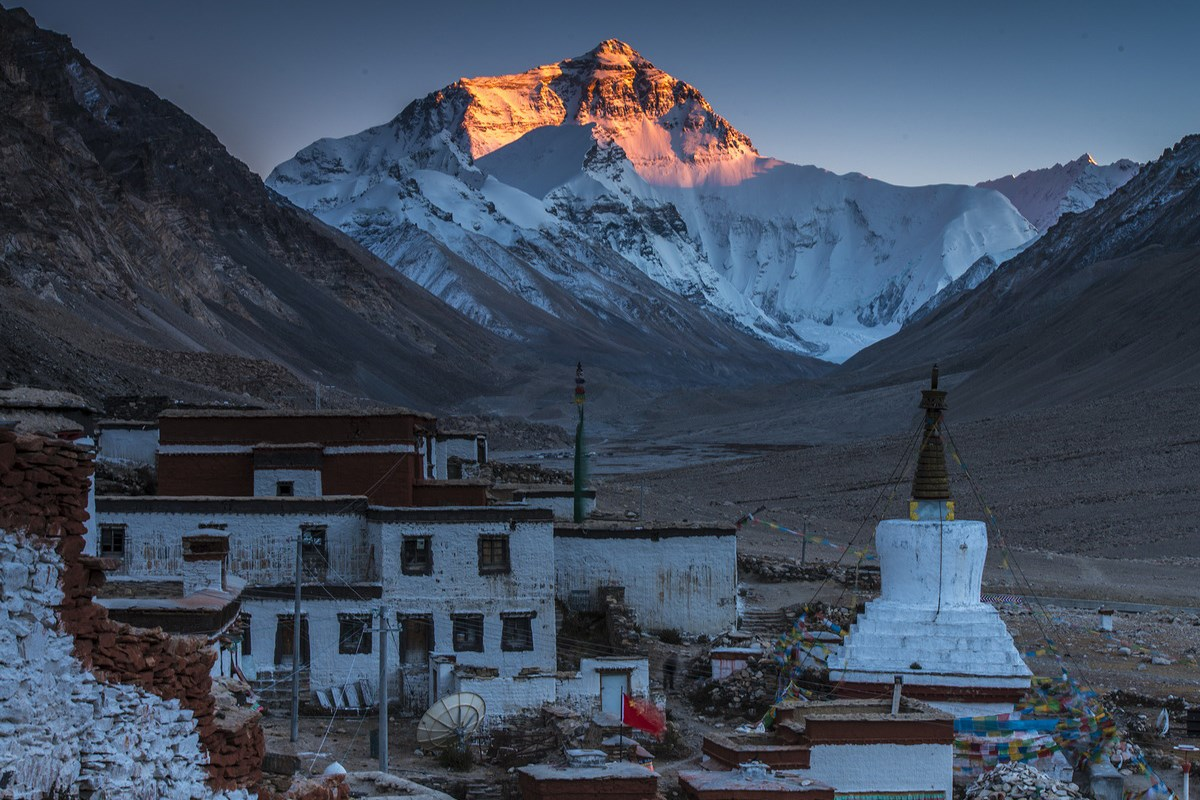 Sunset of Everest