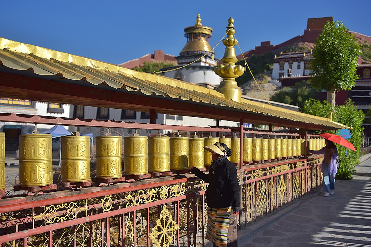 Prayer Wheels of Palkhor Monastery | Foto da Liu Bin